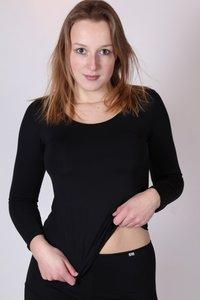Dames shirt polyamide/lycra Avet set