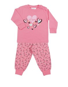 Baby meisjes pyjama new heart Fun2wear