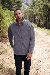 Fleece sweater polyester Fruit-loom